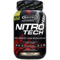 Better Quality Supplements Save U more! Buy 1-2 or more MUSCLETECH Nitro Tech Performance Series 2 lbs get more4Less #Muscletech
