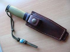 MORA 2000 Handmade leather Knife sheath mod.1 on Etsy, $63.16