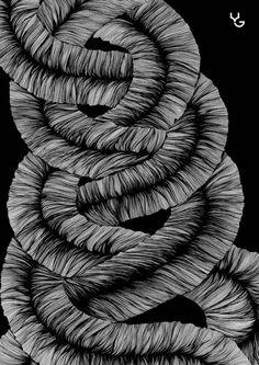 Line art by Vasilj Godzh
