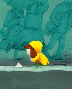 Rainy Day by James Davies, via Behance