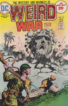 Weird War Tales #34 / Cover Art By Luis Dominguez