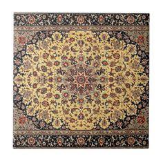 Vintage Ethnic Tribal Boho Persian Oriental Carpet Ceramic Tiles