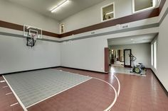 Plan 73356HS: Big Daddy Sport Court House Plan