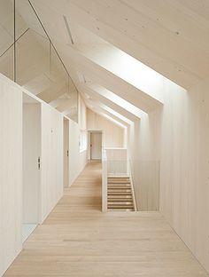 Lo bello de la arquitectura interior.