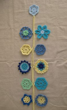 Tutorial (sorta): Crochet Garlands « Speckless Blog