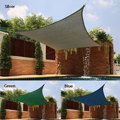 The perfect accessory for backyard picnics on hot summer days, this Sail Sun Shade boasts breathable fabric construction for significant temperature reduction to create your own shady oasis.