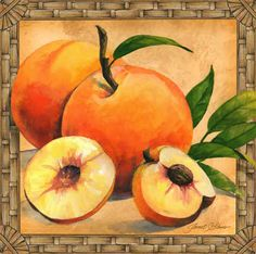 """""""Peaches"""" by Janet Stever"""