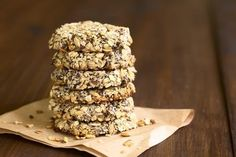 gâteaux super-nutritifs à base de graines