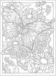 Detailed Coloring Pages, Printable Adult Coloring Pages, Cute Coloring Pages, Flower Coloring Pages, Disney Coloring Pages, Mandala Coloring Pages, Animal Coloring Pages, Adult Colouring Pages, Colouring Pages For Adults