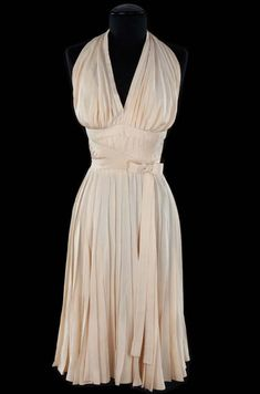 """emmicamille: """" The dress worn by Marilyn Monroe in The Seven Year Itch is probably one of the most famous and instantly recognizable dresses in history both in film and fashion. """"I wondered what could..."""