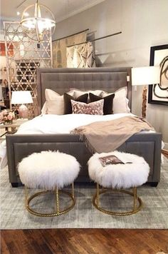 Alice Lane Home Collection is a full-service interior design firm and home furnishings boutique. We offer the best furniture for your home decor. Home Bedroom, Bedroom Decor, Bedroom Ideas, Bedrooms, Warm Bedroom, Diy Home Decor Rustic, Suites, Home And Deco, Dream Rooms