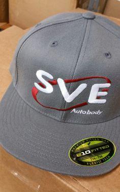 SVE Autobody embroidered hat.  #tiktokink #sveautobody #embroideredhat #embroidery #embroiderycolorado