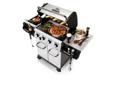 Broil King Regal S440 Pro Stainless Steel 4 Burner Natural Gas Grill - In Stock