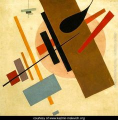 Suprematism 3. Kazimir Severinovich Malevich.