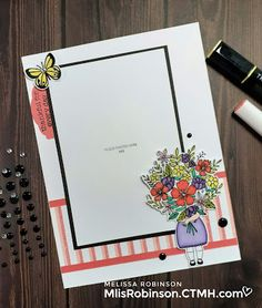 """Heartfelt Sentiments: """"For My Beautiful Friend"""" July Stamp of the Month Blog Hop Life Page, My Beautiful Friend, Alcohol Markers, Flower Center, Host A Party, Close To My Heart, Scrapbook, Stamp Sets, My Favorite Things"""