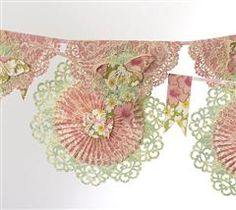 So sweet and perfect for any occasion, this garland can adorn a mantel or table with style. Enjoy, Anna