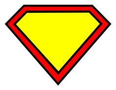 printable superhero logo | Superhero birthday | Pinterest