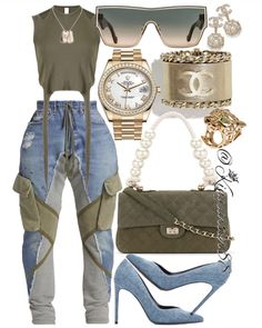 Swag Outfits For Girls, Cute Swag Outfits, Girl Outfits, Model Outfits, Fashion Wear, Curvy Fashion, Fashion Looks, Fashion Outfits, Fashion Styles