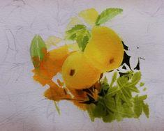 2017수업시연중에~~ : 네이버 블로그 Fruit Art, Floral Watercolor, Kim Sun, Flowers, Painting, Vegetables, Painting Art, Paintings, Vegetable Recipes