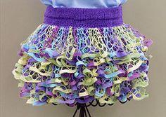Ruffle Yarn Skirt