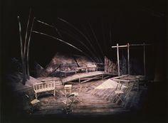 La Mouette (The Seagull). National Arts Centre Studio. Scenic design by Guy Neveu. 1978