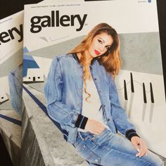 Our front cover for Gallery Magazine with Danny Evans - July 2015