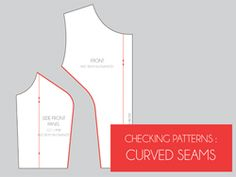 checking curved seams