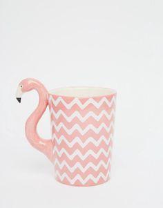 Image 1 - Sass & Belle - Mug flamant rose