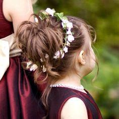 Hairband for the flower girl