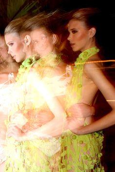 Backstage Lenny - Fashion Rio s/s 2012