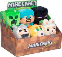 Minecraft - Happy Explorers Small Plush - Blind Box - Styles May Vary Minecraft Room Decor, Minecraft Toys, Minecraft Bedroom, Minecraft Creations, Minecraft Crafts, Minecraft Party, Lego Bedroom, Minecraft Furniture, Minecraft Skins
