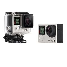 Gopro Hero4 Black Edition Camera: Introducing HERO4 Black the most advanced GoPro ever. Featuring improved… #outdoorclothing #huntinggear