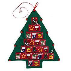Giftco, Inc Christmas Tree Advent Calendar Felt Fabric Holiday Countdown Display Decoration, Reusable Christmas Tree Advent Calendar, Christmas Crafts, Christmas Ornaments, Christmas Holiday, Holiday Countdown, Seasonal Decor, Holiday Decor, Felt Fabric, Felt Ornaments