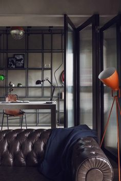 2- A Marvel Themed Apartment Interior - Industrial Style - Male Apartment