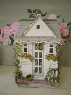 The Craft Studio Custom Dollhouse by cinderellamoments on Etsy, $399.00