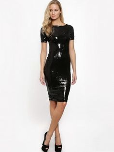 55f460a321 AX PARIS All-Over Sequin Midi Dress purchase from koovs.com Paris Shopping