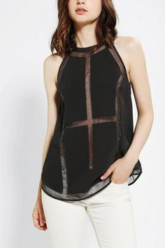 Cameo Megalomania Halter Tank Top Online Only