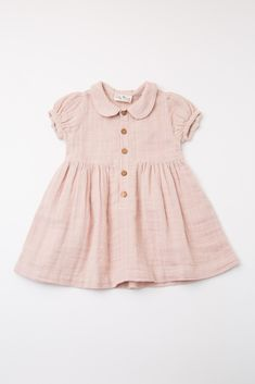 Light pink baby dress with collar and button placket things for kids dress # Baby Girl Dresses baby button collar dress kids Light pink placket Baby Outfits, Baby Girl Dresses, Kids Outfits, Baby Girl Clothing, Kids Clothing, Fall Toddler Outfits, Vintage Baby Dresses, Smocked Baby Dresses, Newborn Clothing