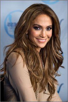 Best Ideas For Makeup Ideas Morenas Jennifer Lopez Hair Colors Brunette Beauty, Hair Beauty, Celebrity Hairstyles, Cool Hairstyles, Jennifer Lopez Hair Color, Celebrity Makeup Looks, Popular Haircuts, Brown Hair Colors, Balayage Hair