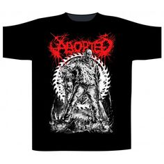 Tricou Aborted: Jason Heavy Metal, Mens Tops, Material, Products, Fashion, Shoulder, Cotton, Moda, Heavy Metal Music