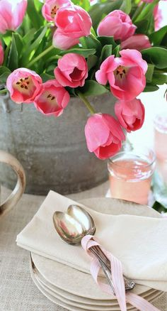 spring table...