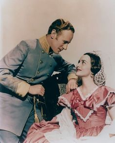 "Olivia de Havilland & Leslie Howard from ""Gone with the Wind."" -- These characters were nobler and more likeable than Scarlett."