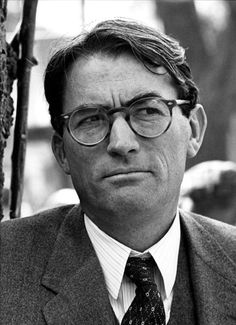 ATTICUS FINCH- see also AFI's 100 Years, Bookworms, Gregory Peck, Nice Guys, Smart People Wear Glasses