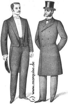 Tailcoat, Frock Coat, 1898: