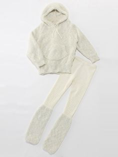 Brand: gelato pique  Item: moco moco hoodie and relax pants  Price: 10920JPY  http://fashionwalker.com/fw/gelatopique/b/pc/Product.html?mthd=07=PIQ12F0365=PIQ=====00=00