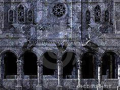 Facade of an old cathedral. Can be used as background.