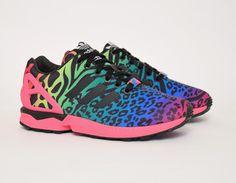 #adidas ZX Flux #ItaliaIndependent Safari Print #sneakers