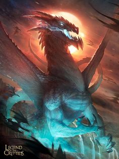 Artist: Pascal Quidault aka kido421 - Title: the evil dragon of demise reg - Card: Apocalyptic Rulugroa