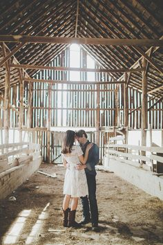 rustic engagements love love love... http://www.weddingchicks.com/2014/03/17/adam-danielles-farm-style-engagement-session/