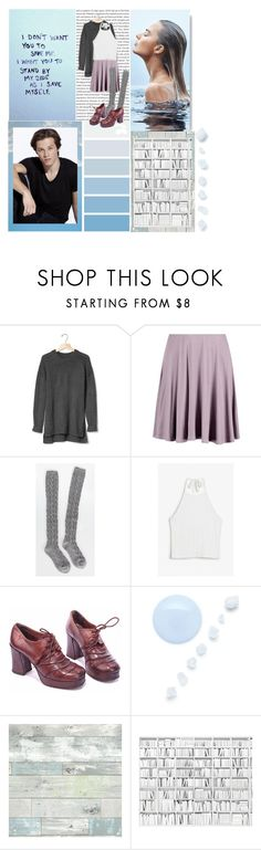 """""""Untitled ft. Leo Howard😁"""" by unicorncheesecake ❤ liked on Polyvore featuring Oris, Gap, Boohoo, Monki and WallPops"""